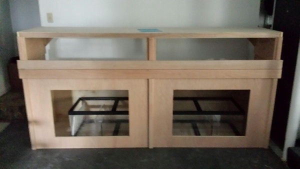 stand and canopy and sump
