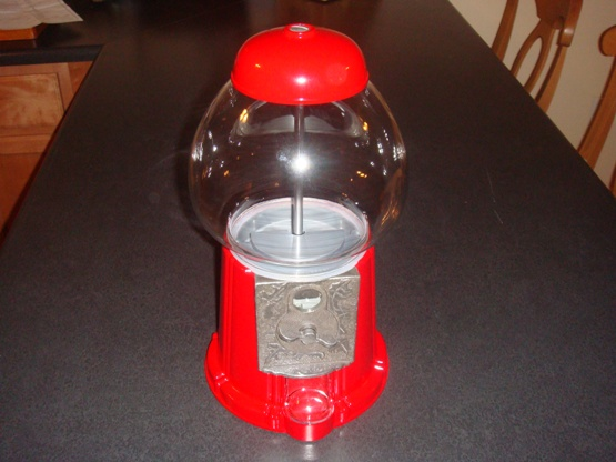 Photo betta gumball machine fish tank in the album for Gumball fish tank